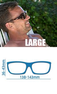 Large尺寸142mmx47mm太陽眼鏡,保護眼睛抗uv400寶麗萊偏光外罩式戶外太陽眼鏡