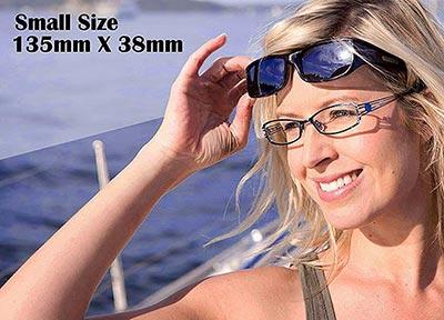 Small尺寸135mm x 38mm太陽眼鏡,覆蓋式外罩式外掛式外置式包覆式全罩式外置前掛式,戶外、運動、偏光、護眼太陽眼鏡
