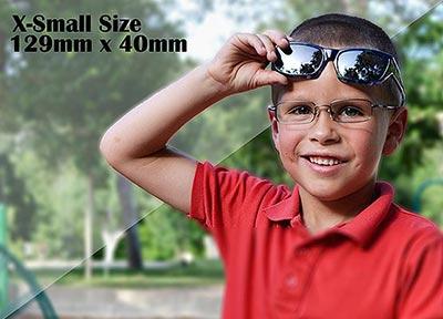 X-Small尺寸129mm x 40mm,覆蓋式外罩式外掛式外置式包覆式全罩式外置前掛式,戶外、運動、偏光、護眼太陽眼鏡