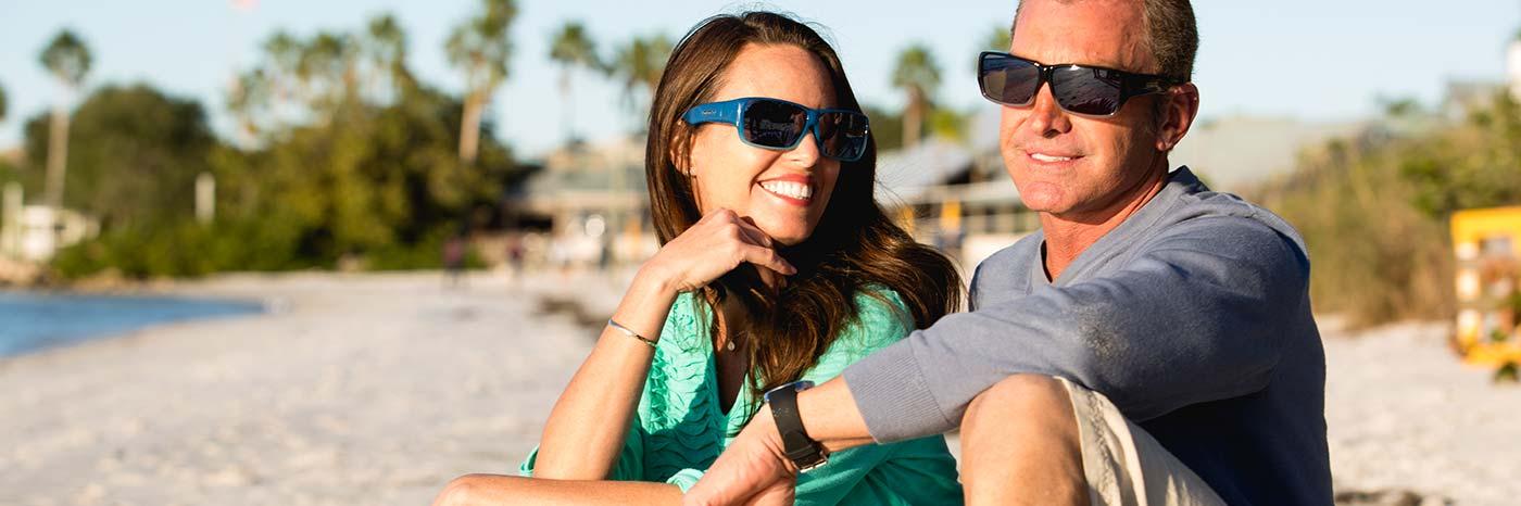 太陽眼鏡專為佩戴眼鏡人士設計